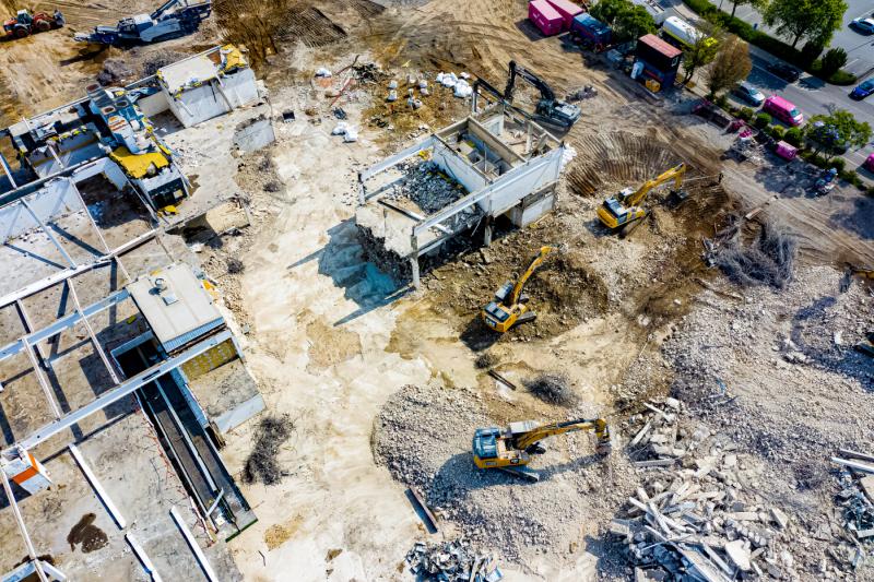 Baustellenfotografie
